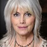 coiffure femme 60 ans cheveux longs