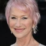 coiffure femme 60 ans cheveux colorés roses