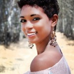coiffure courte femme visage rond