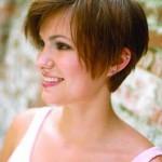 coiffure courte visage rond 2013