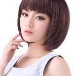coiffure femme 2014 avec frange