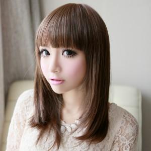 coiffure femme asiatique cheveux longs