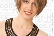 coiffure femme cheveux courts mariage