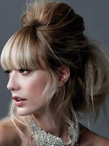 coiffure femme mi long avec frange 2013