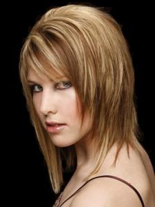 coiffure femme mi long lisse
