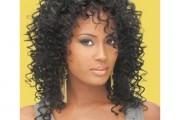 coiffure femme noire cheveux mi long