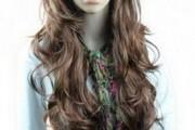 coiffure femme très longue