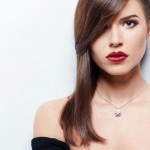 coiffure mèche visage rond