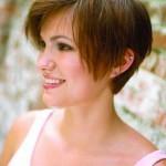 coiffure mariée cheveux court 2014