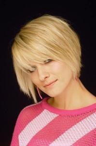 coiffure pour jeune cheveux courts