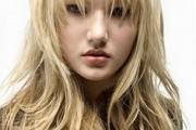 coiffure rock femme cheveux mi-long