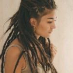 coiffure roots femme cheveux long