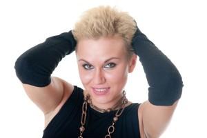 coupe cheveux visage rond femme 50 ans