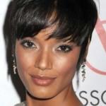 coupe de cheveux court femme visage rond 2013