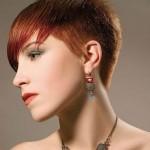 coupe de cheveux courte couleur femme