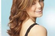 coupe visage rond cheveux ondulés