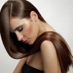 belle coloration pour cheveux lisses