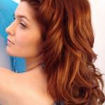 belle couleur rousse cheveux femme