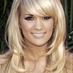 coiffure femme avec visage ovale