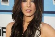 coiffure femme visage ovale brune