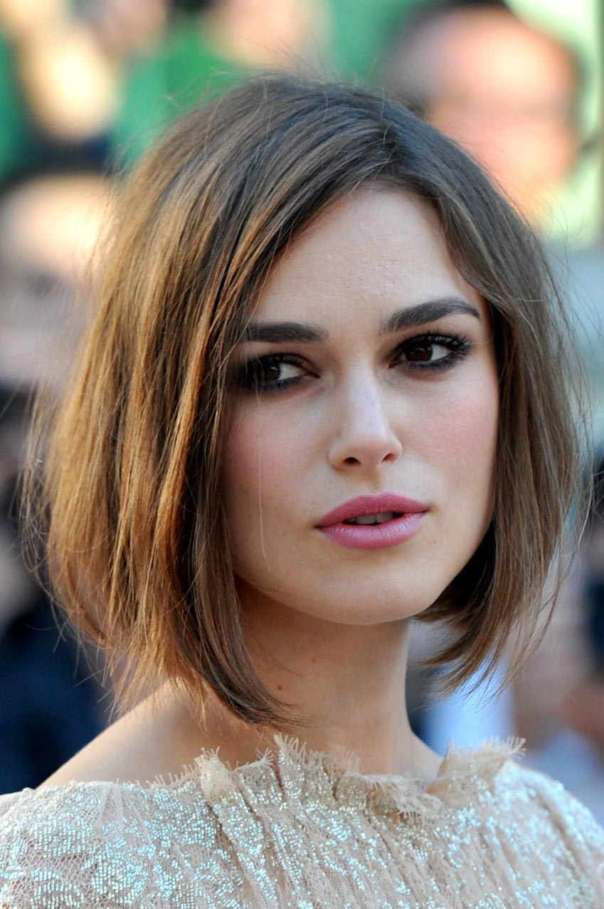 coupe de cheveux pour visage carré femme
