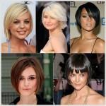 coiffures courtes pour femme au visage carré