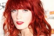 coloration cheveux rouge