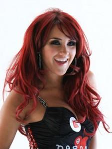 coloration rouge tendance cheveux