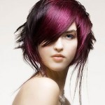 coloration violette cheveux