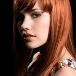 couleur cheveux auburn