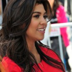 couleur cheveux chocolat kourtney kardashian