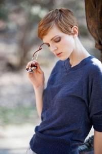 coupe courte femme visage ovale