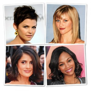 photo coiffure pour visage carré