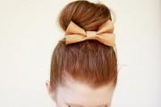 coiffure chignon haut pour femme de 30 ans