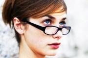 coiffure femme 30 ans avec lunettes