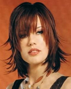 coiffure femme pour visage long
