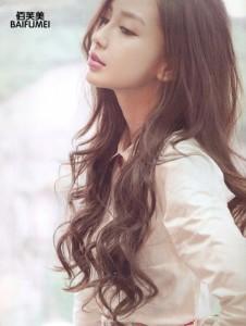 coiffure femme visage long ondulés