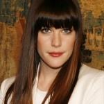 coiffure frange pour femme visage long