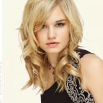 coupe femme blonde cheveux fins