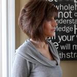 coiffure carré plongeant femme 40 ans