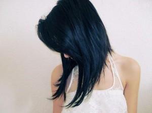 idée coiffure carré plongeant long