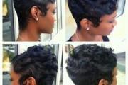 coiffure dégradé afro
