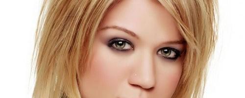 coiffure dégradé blond