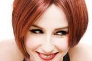 coiffure dégradé couleur