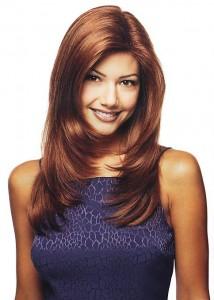 coiffure femme dégradé long