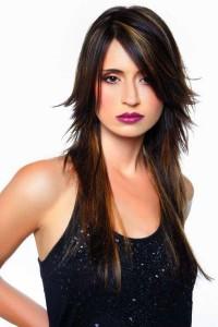 coupe dégradé cheveux longs