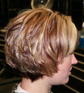 modèle coiffure dégradé ondulé